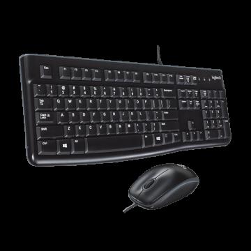 Standaard desktop set Logitech USB - MK120
